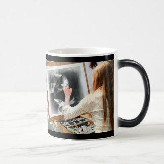 Mug Magique Portrait de Lucy