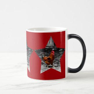Mug Magique Poulet superbe d'étoile
