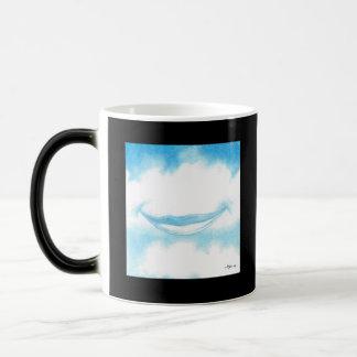 Mug Magique Sourire en nuages Morphing