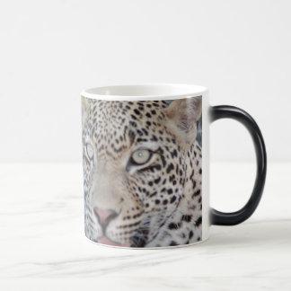 Mug Magique Yeux africains sauvages de léopard