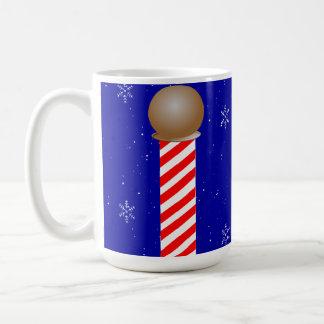 Mug Magnétique de café de Pôle Nord de jazz de renne