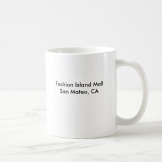 Mug Mail San Mateo, CA d'île de mode