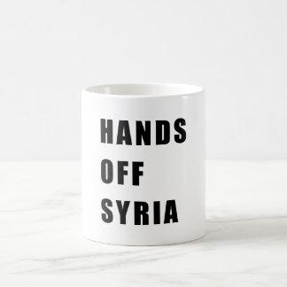 Mug Mains outre de la Syrie