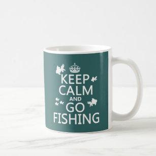Mug Maintenez calme et allez pêcher