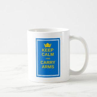Mug Maintenez calme et portez la vitesse de Viking de