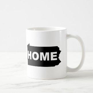 Mug Maison de la Pennsylvanie à partir de T-shirt