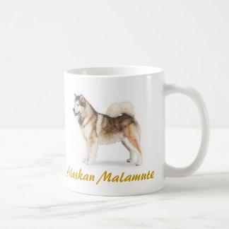 Mug Malamute d'Alaska, amoureux des chiens en