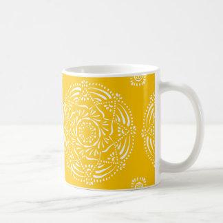 Mug Mandala de miel
