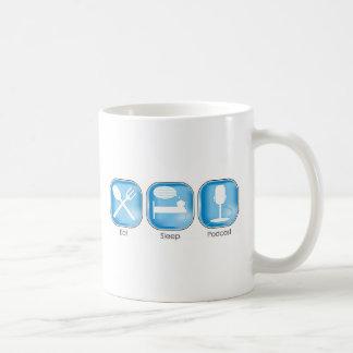 Mug Mangez le Podcast de sommeil