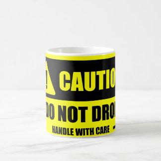 Mug Manipulez avec soin - précaution ! Ne laissez pas