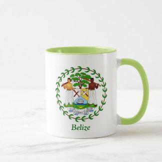 Mug Manteau des bras de Belize