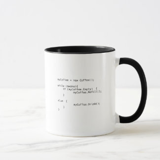 Mug Manuscrit de café