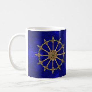 Mug Marbre celtique de bleu royal d'épées