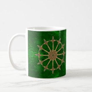 Mug Marbre celtique de vert vert d'épées