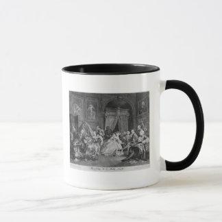 Mug Mariage un mode de La, plat IV, la toilette, 1745