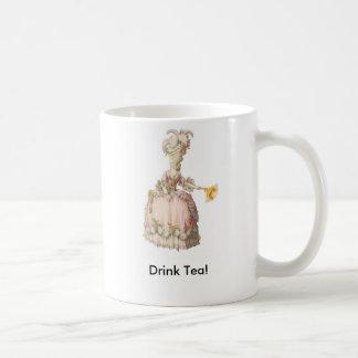 Mug Marie Antoinette.  Thé de boissons !
