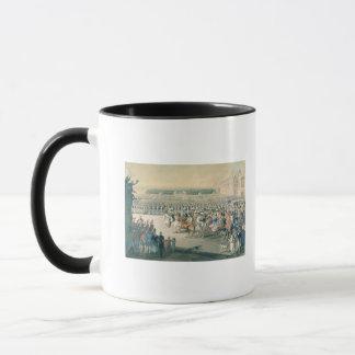 Mug Mars des forces alliées dans Paris, 1815