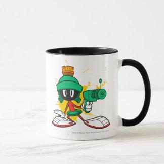 Mug Marvin avec l'arme à feu