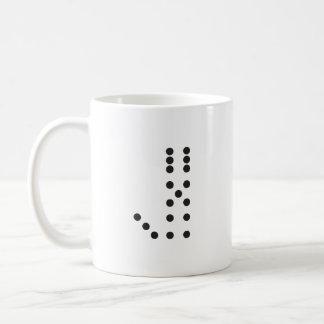 Mug Matrices de la lettre J