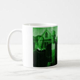 Mug Matrix gothique américain OMG GMO