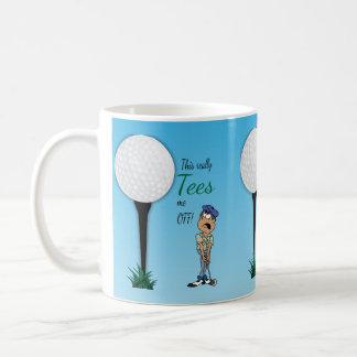 Mug Me pique outre du golfeur