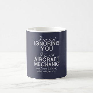 Mug Mécanicien d'aviation