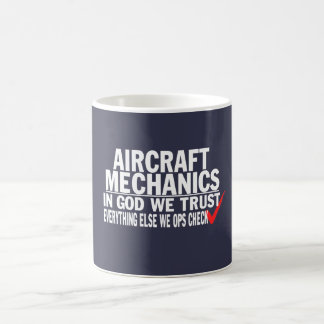 Mug Mécaniciens d'aviation