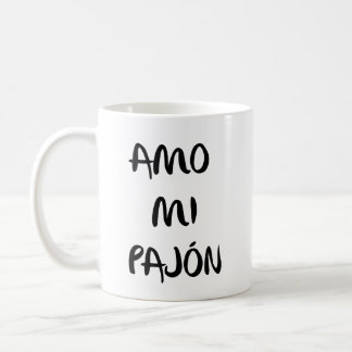 """Mug M'effiloche «aime mon pajón """""""