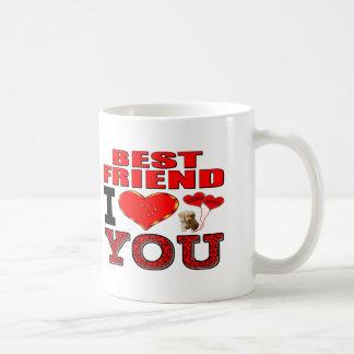 Mug Meilleur ami je t'aime