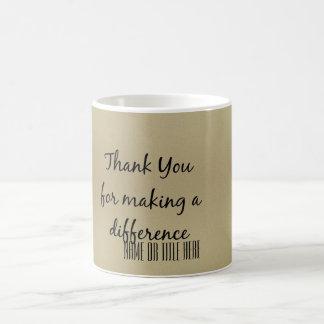 Mug Merci pour faire une différence