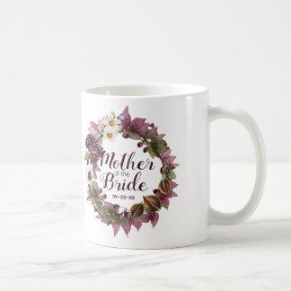 Mug Mère de prune de guirlande de mariage de automne