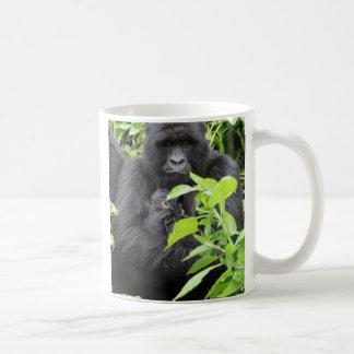 Mug Mère et bébé de gorille de montagne