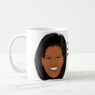 Mug Michelle Obama : Fier de mon pays