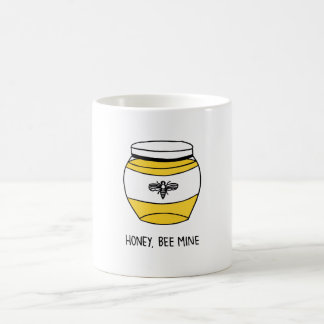 Mug Miel, mine d'abeille