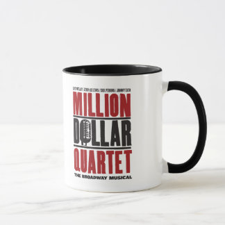 Mug Million de logo de quartet du dollar