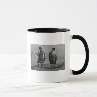 Mug Mineurs du Chili, gravés par F. Lehnert