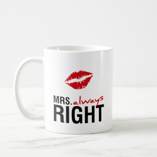 Mug Mme toujours droite