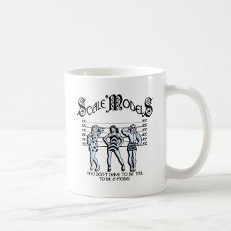 Mug Modèles d'échelle