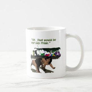 Mug Modes de vie alternatifs - LGBT - lions, gay pride