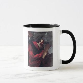 Mug Moïse avec les comprimés de la loi