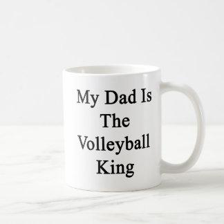 Mug Mon papa est le roi de volleyball