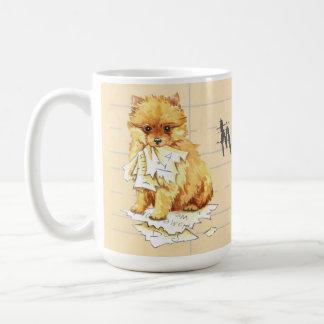 Mug Mon Pomeranian a mangé mon travail