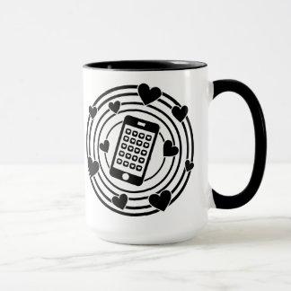 Mug Mon téléphone est le centre de mon univers !