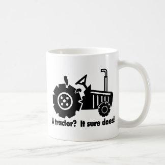 Mug Mon tracteur est un aimant de poussin