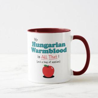 Mug Mon Warmblood hongrois est tout cela ! Cheval
