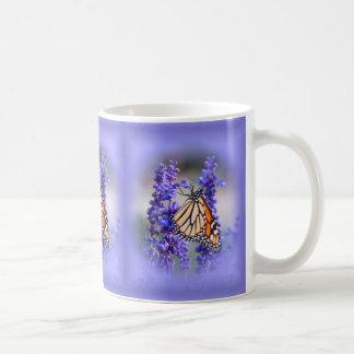 Mug Monarque sur Salvia - papillon