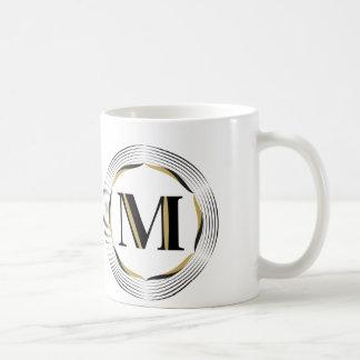 Mug Monogramme de M pour lui