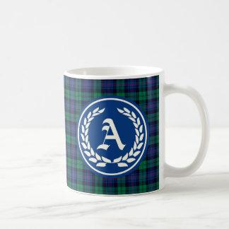 Mug Monogramme de tartan d'Armstrong de clan