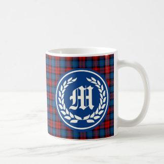 Mug Monogramme de tartan de MacLachlan de clan