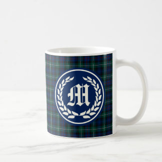 Mug Monogramme standard de tartan du Mackenzie de clan